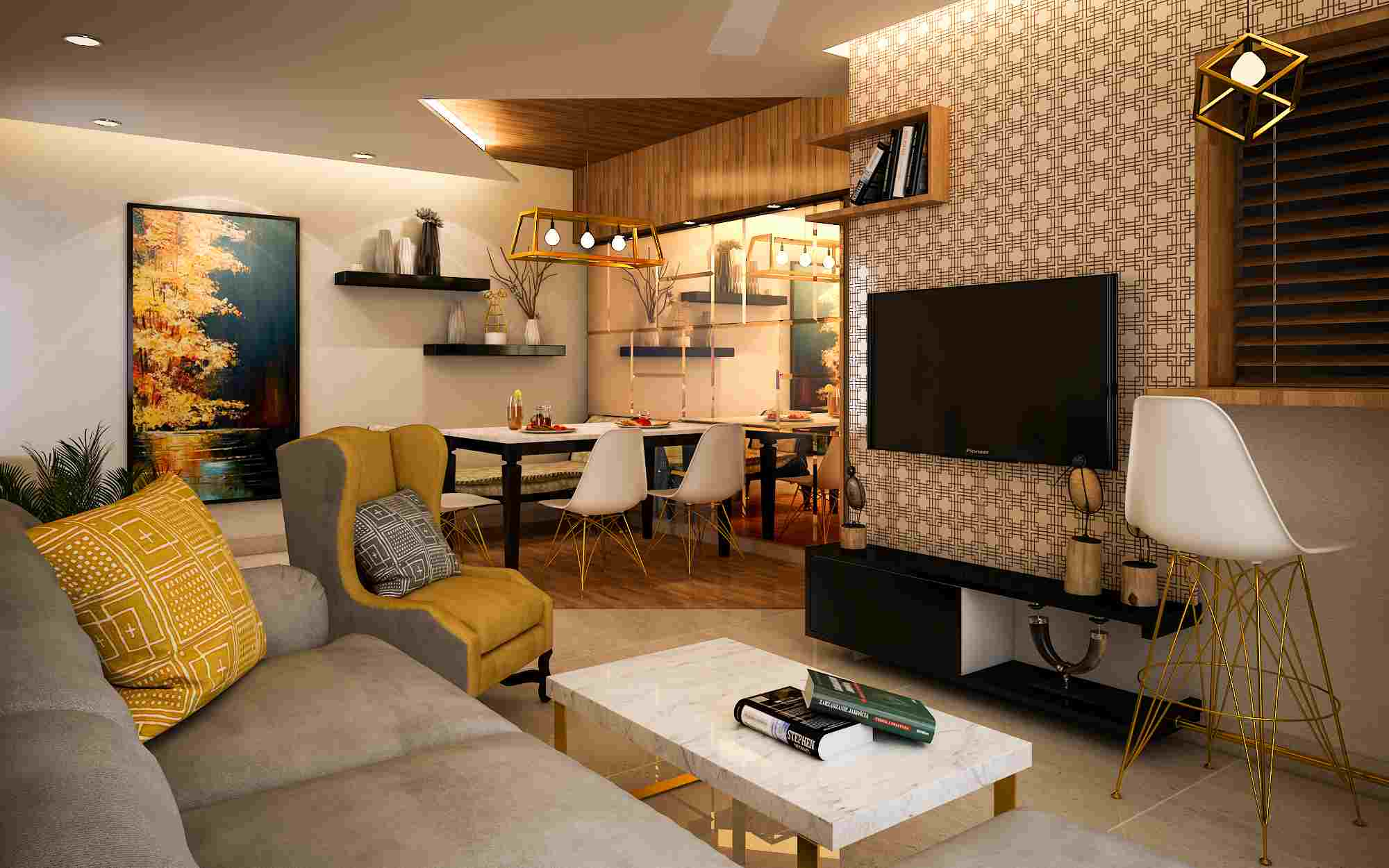 Arrivae Your Home Interior Solutions Living Room